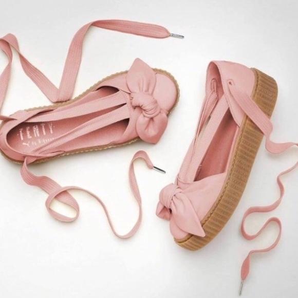 15a8ca3f514 M 5b21636c3e0caad20bb4ad5e. Other Shoes you may like. FENTY PUMA by Rihanna  Bow Creeper Sandal. FENTY PUMA by Rihanna Bow Creeper Sandal